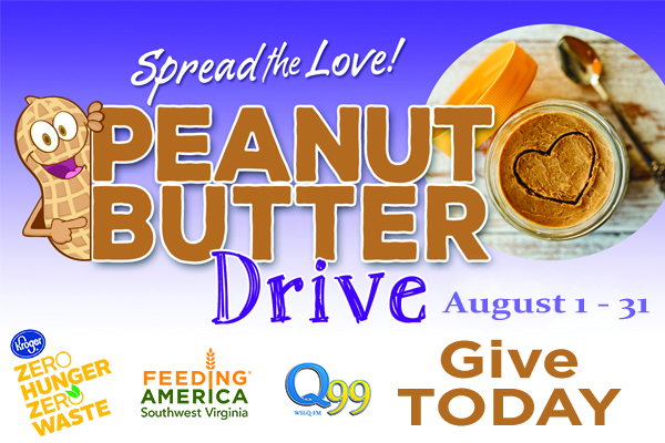 Spread the love... Peanut Butter Drive!