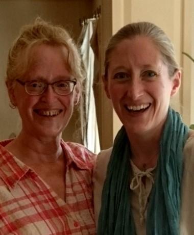 Linda and Karen